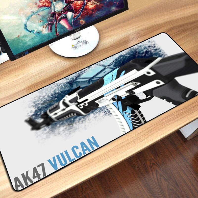 CS GEHEN Gaming Tastatur Maus Pad Matte Große Größe Asiimov AK47 M4A1 AWP CSGO Gamer Mauspad für PC Computer Notebook maus Gaming
