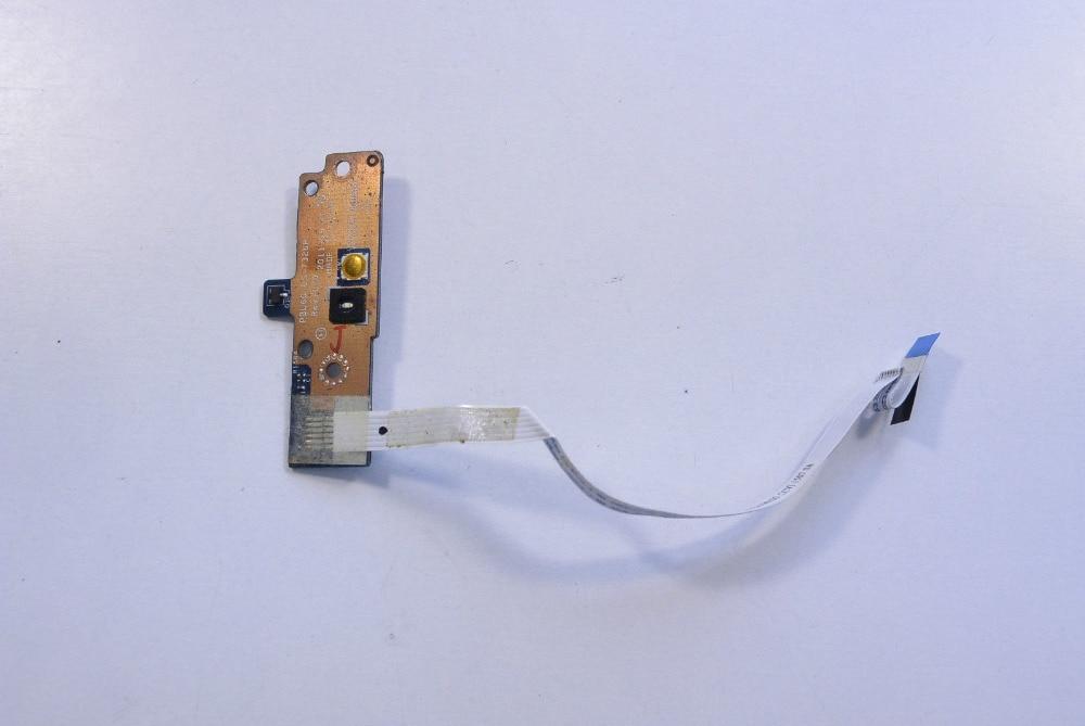 WZSM-placa del botón del interruptor de encendido con cable, para ASUS X53U...