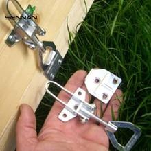 DLKKLB 1 Set 양봉 벌집 상자 버클 로프 전송 커넥터 테이프 하이브 패스너 핸드 장비 도구 꿀벌 상자