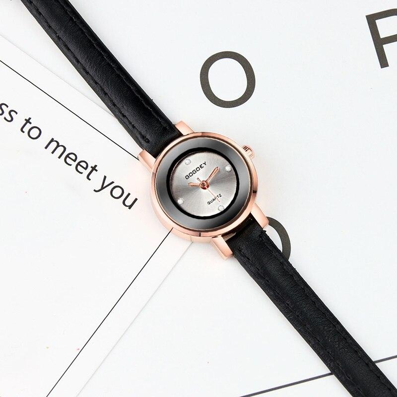 2019 Gogoey Brand Women's Watches Fashion Wrist Watch Women Watches Leather Ladies Watch Clock saat bayan kol saati relojes