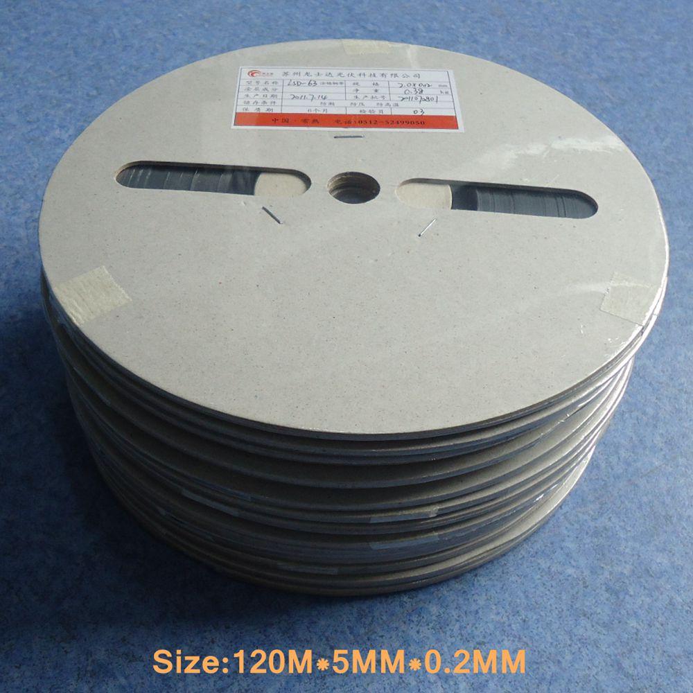 100M * 5MM * 0,2 MM células solares fotovoltaicas Bus Barra de alambre para Panel Solar de soldadura