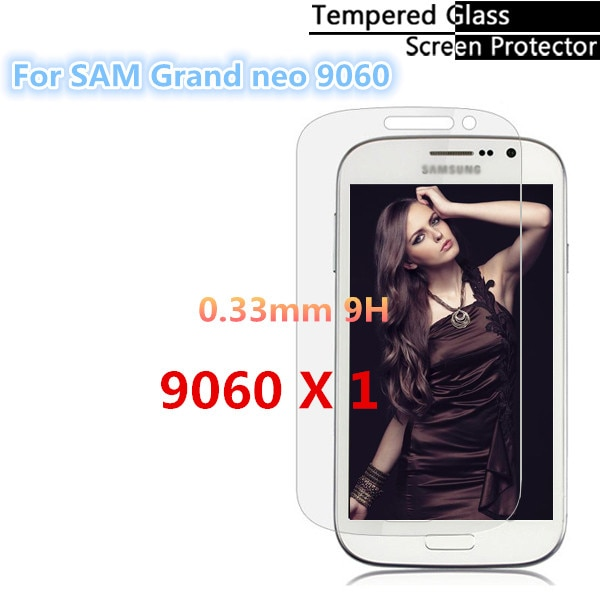 0.3mm Explosion Proof 9H 2.5D Tempered Glass Screen Protector For Samsung Galaxy Grand Neo I9060 Gua