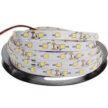 En gros 5 m/roll 5 M 10 M 50 M 100 M bande smd LED 2835 12 V 60 LED s/m Non étanche Flexible bande de LED blanc chaud blanc RGB bande