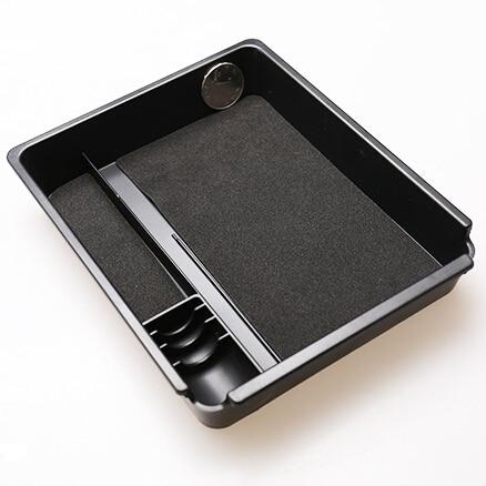 Автомобильный стиль, перчаточный ящик, подлокотник, коробка для хранения чемоданов, Клапборд, поддон, автомобильные аксессуары для Volkswagen VW ...