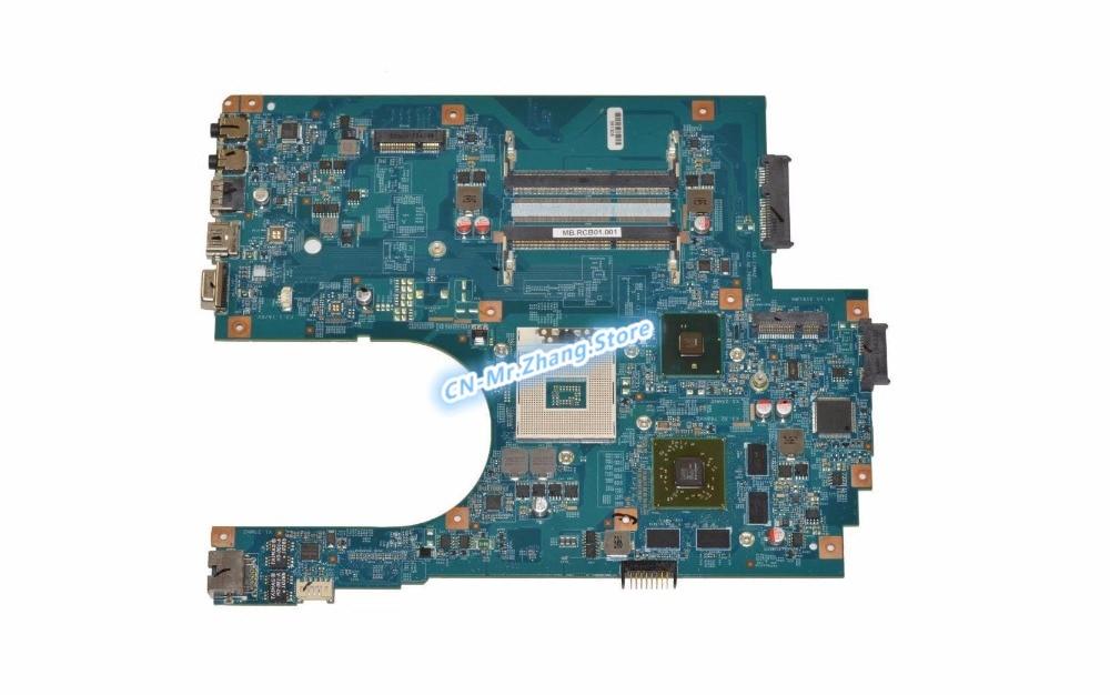 MBRCB01001 SHELI PARA Acer Aspire 7741 7741G Laptop Motherboard MB. RCB01.001 48.4HN01.01M DDR3 W/HD5650 GPU 1 GB de RAM