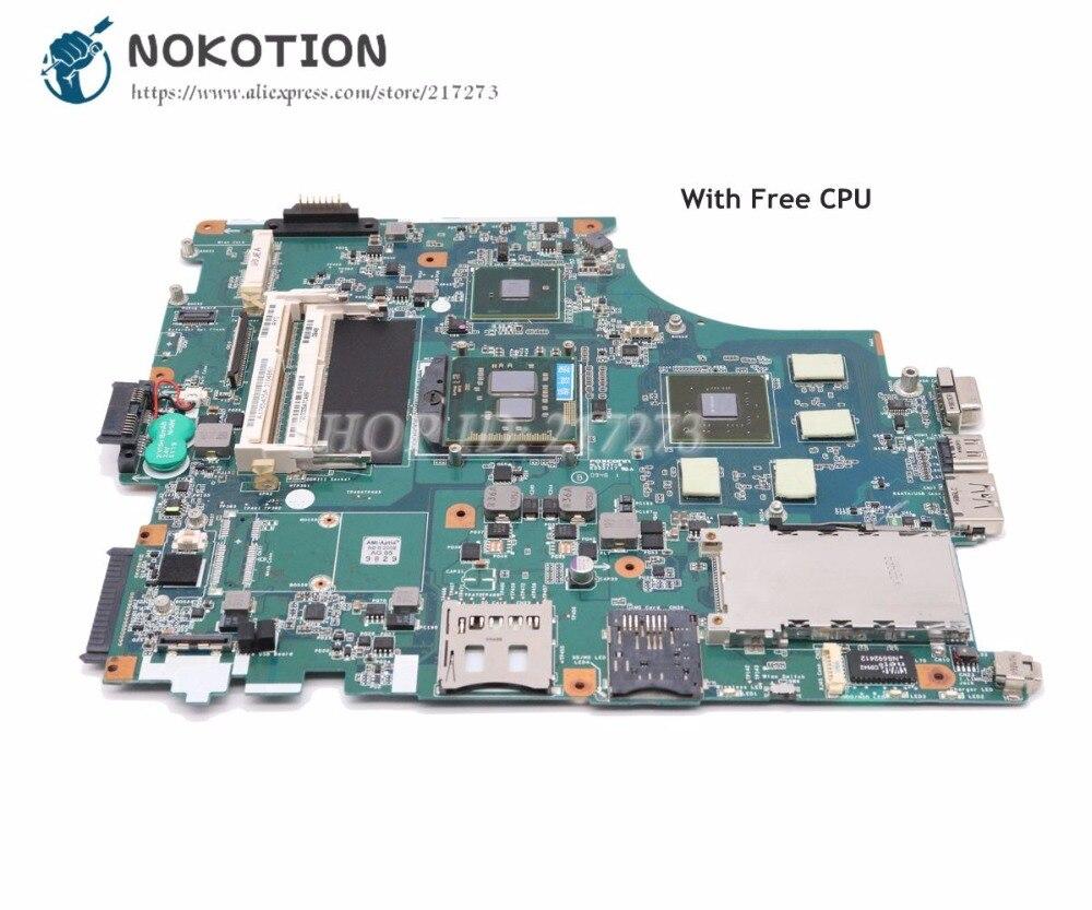 NOKOTION для Sony VPCF PCG-81114L материнская плата для ноутбука A1765405A MBX-215 M930 1P-009BJ00-8012 основная плата GT330M 1GB