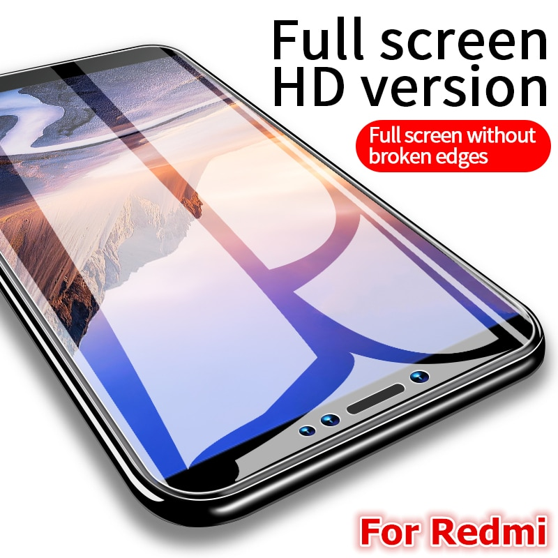 Защитное закаленное стекло для Xiaomi Redmi Note 7 Pro Xiomi Redmi 7 Redmi Note 8 Pro, защитное стекло на весь экран Xiaomi Redmi