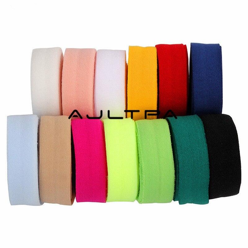 Banda elástica de costura plana de 2200M y 15mm para ropa interior, pantalones, sujetador de goma, ropa decorativa, cintura suave ajustable, elástico H4561