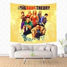 Tapiz colgante de pared The Big Bang Theory, Manta de Yoga, Manta de playa, colchón de Camping, almohadilla para dormir