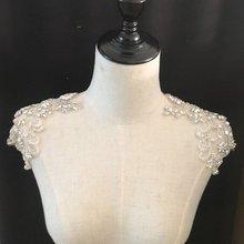 Applique en perles de strass, perle lourde, application faite à la main pour la couture, accessoire de vêtement