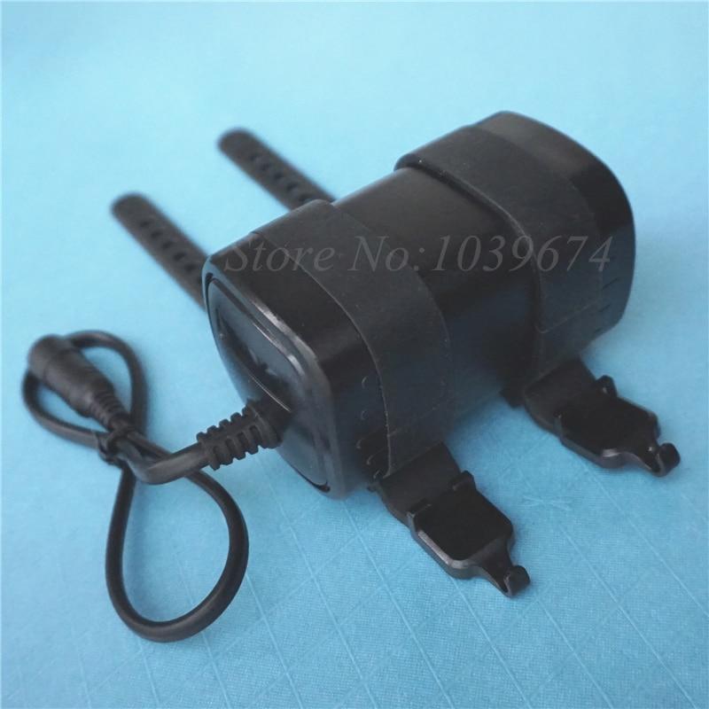 7,4 V 8,4 V 6000MAH Lithium-ion 18650*4 Banco de energía de batería impermeable recargable DC5.5 enchufe para linternas LED de bicicleta