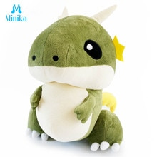 Cute Dinosaur Dragon Plush Toys Cartoon Tyrannosaurus Stuffed Soft Dolls Dino Toy For Kids Children Boys Birthday Gift Christmas