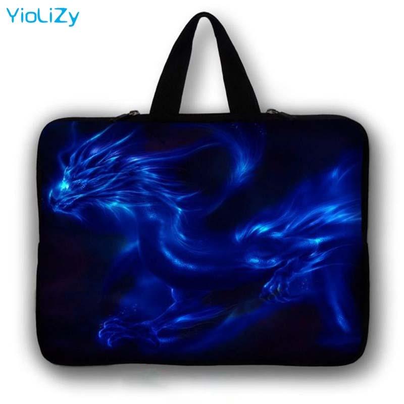 Dragon print 7 10 13 13.3 14 15 15.4 15.6 17 17.3 inch customize Laptop sleeve Notebook Bag Case Ultrabook cover handbag LB-5772