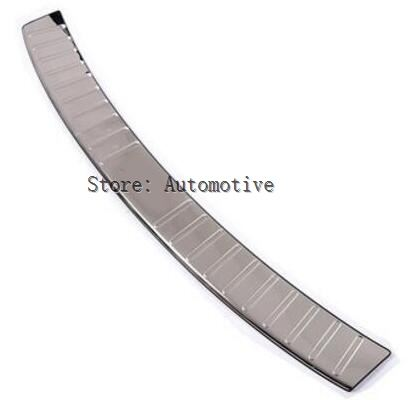 For Audi Q5 2013 2014 2015 2016 2017 Bright surface Stainless Steel Outer Rear Bumper Protector Threshold Plate Cover Sill trim enlarge