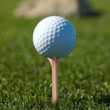 New Brand 100Pcs Plastic Golf Ball Wood Tee Tees Professional Frictionless Golf Tee Wheat Golf Tees