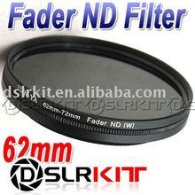 Tianya verre optique 62mm Fader densité neutre 62 ND filtre ND2 à ND400 ND8