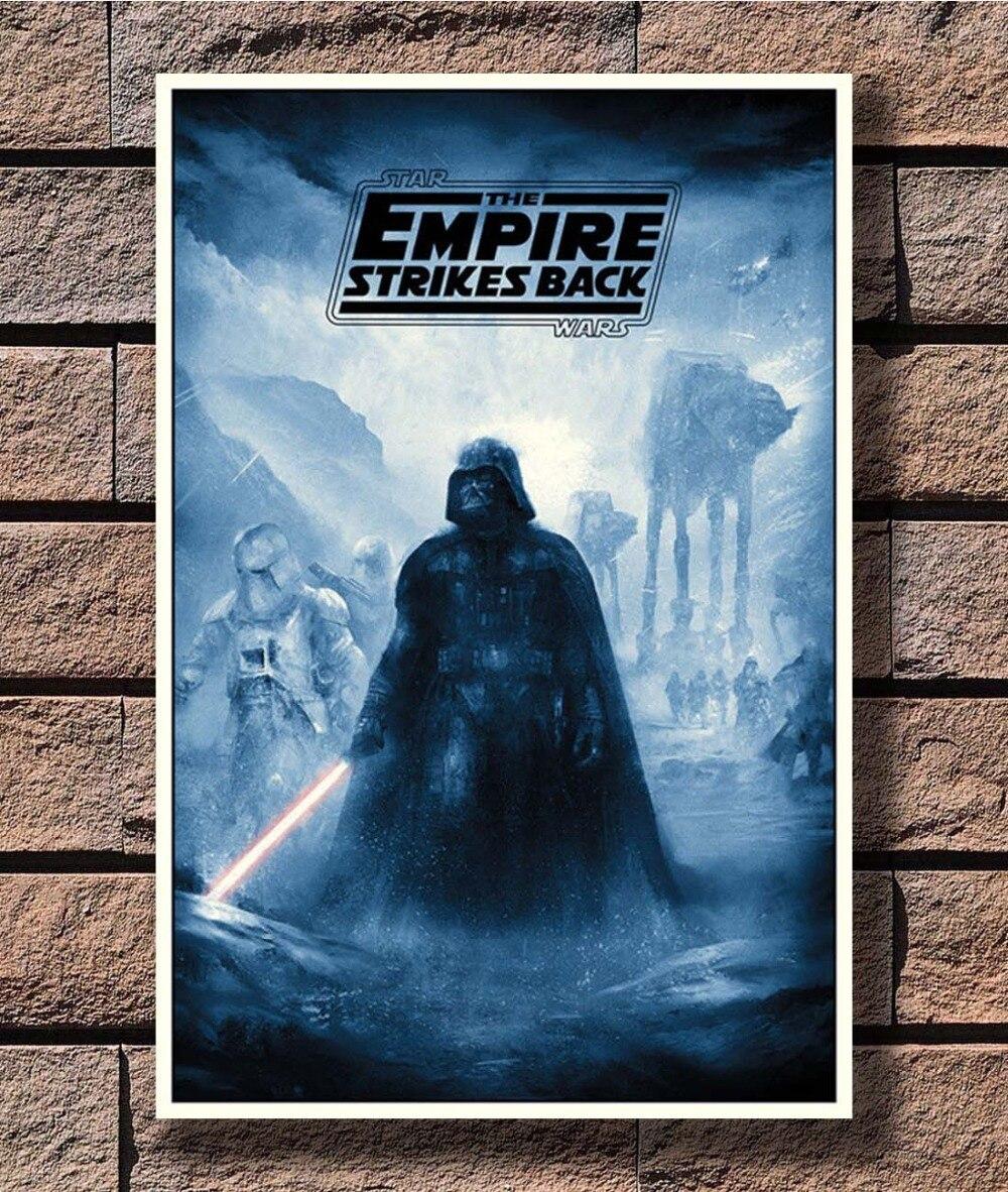 B-571 de Star Wars, Darth Vader, Cartel de la película de arte L-W lienzo impreso decorativo 12x18 24x36x27x40 pulgadas