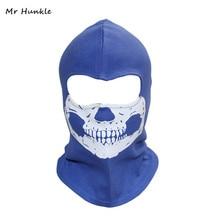 Mr Hunkle 2017 nowy drukuj kapelusz dla dorosłych nowe cukierki kolor maski na całą twarz kominiarka motocykl wiatr pył grymas odblaskowa maska ducha