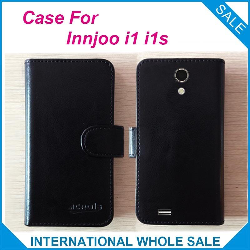 ¡Caliente! Funda 2016 Innjoo i1 i1s, cubierta exclusiva de cuero de alta calidad en 6 colores para número de seguimiento Innjoo i1 i1s
