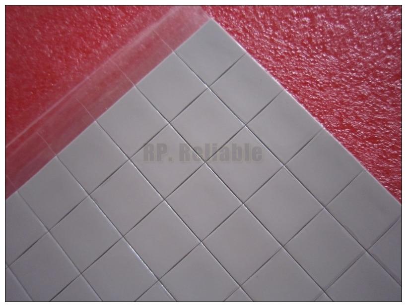 50x15*15mm (0.5mm/1.0mm grubości) miękkie silikonowe podkładki termiczne dla VGA GPU radiator termiczne przewodzące ciepło Transfer do naprawy komputera PC