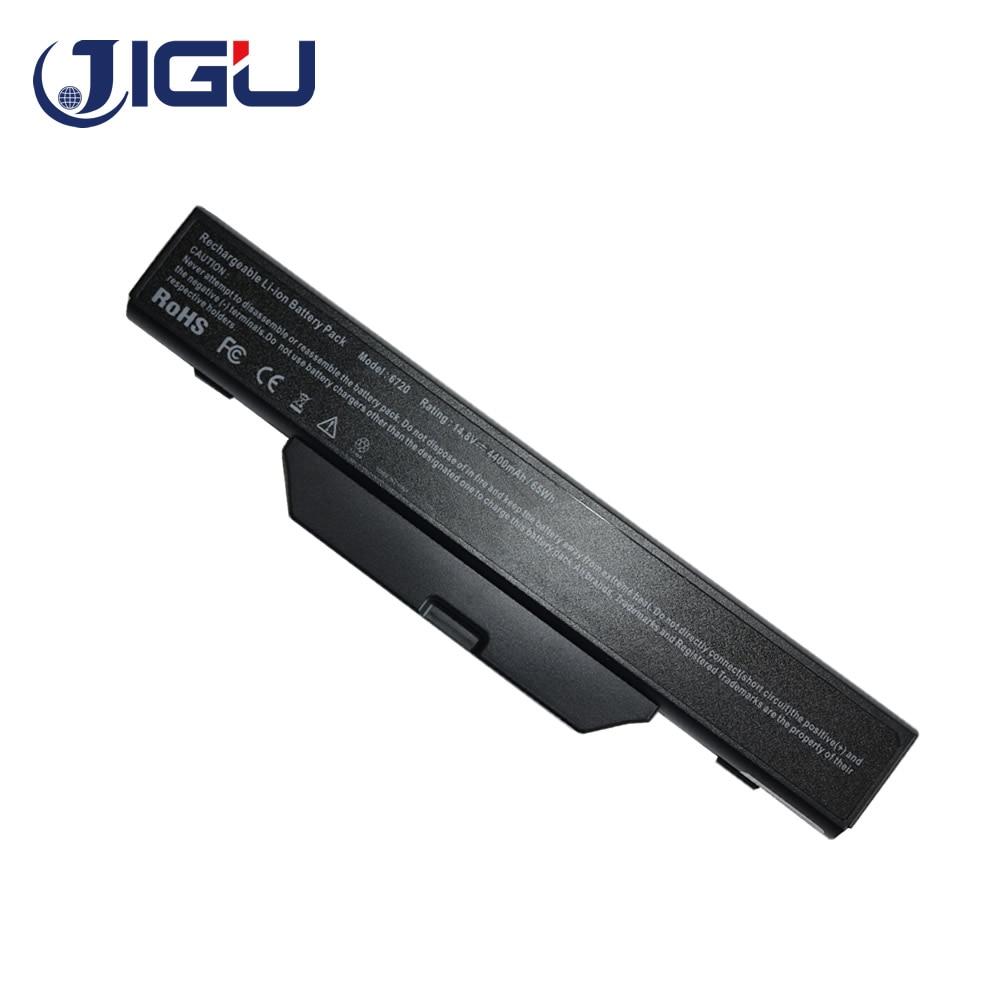 JIGU 8 خلية محمول بطارية لجهاز HP كومباك دفتر أعمال 6720s 6720 s/CT 6730s 6730 s/CT 6735s 6820s 6830s s