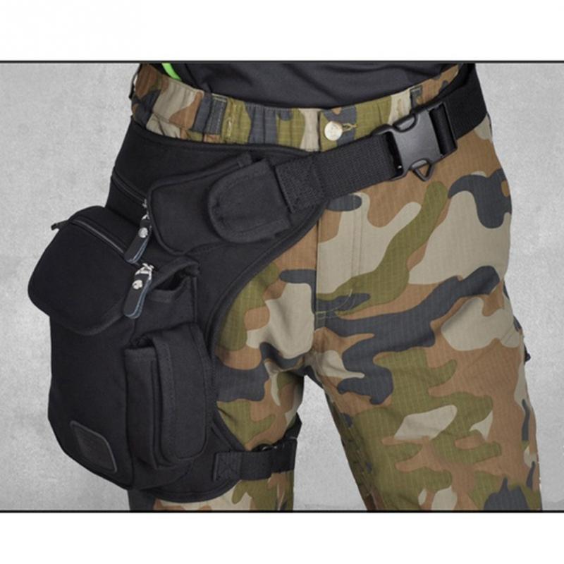 גברים בד זרוק רגל תיק מותן תיק פאני חבילת חגורת היפ Bum צבאי נסיעות רב תכליתי אופנוע שליח כתף שקיות