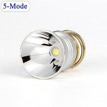 UltraFire Torch Lampen LED 26.5mm Vervanging Lamp CREE XP-L V6 5 Modi 3 V-8.4 V Drop- in-P60 Ontwerp Voor CREE flashl