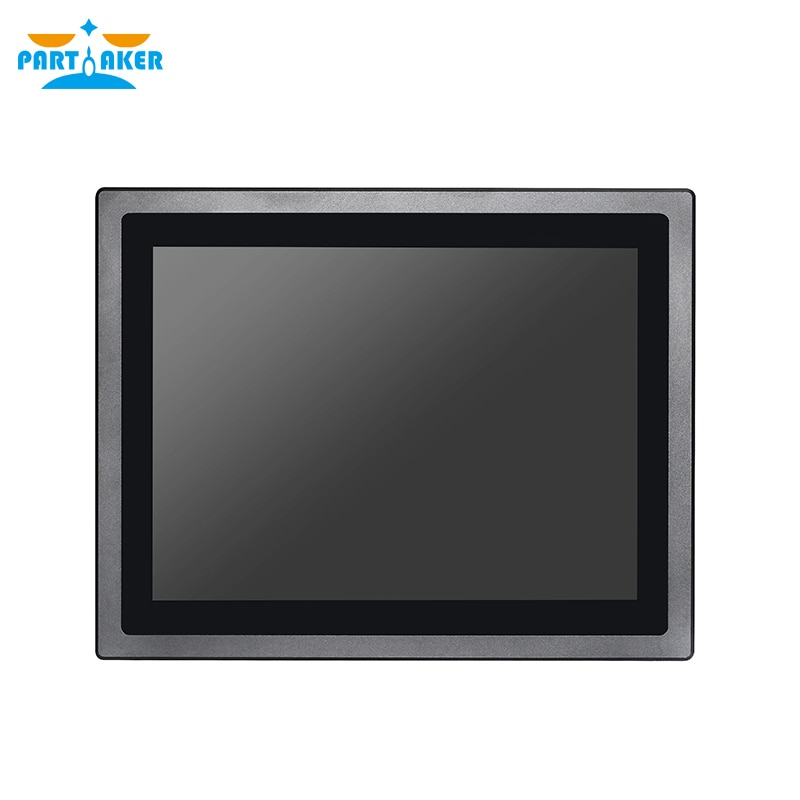 Z17 Intel Celeron 3855u 12 Inch Waterproof Industrial Embedded All In One PC 10-point Capacitive Touch Screen