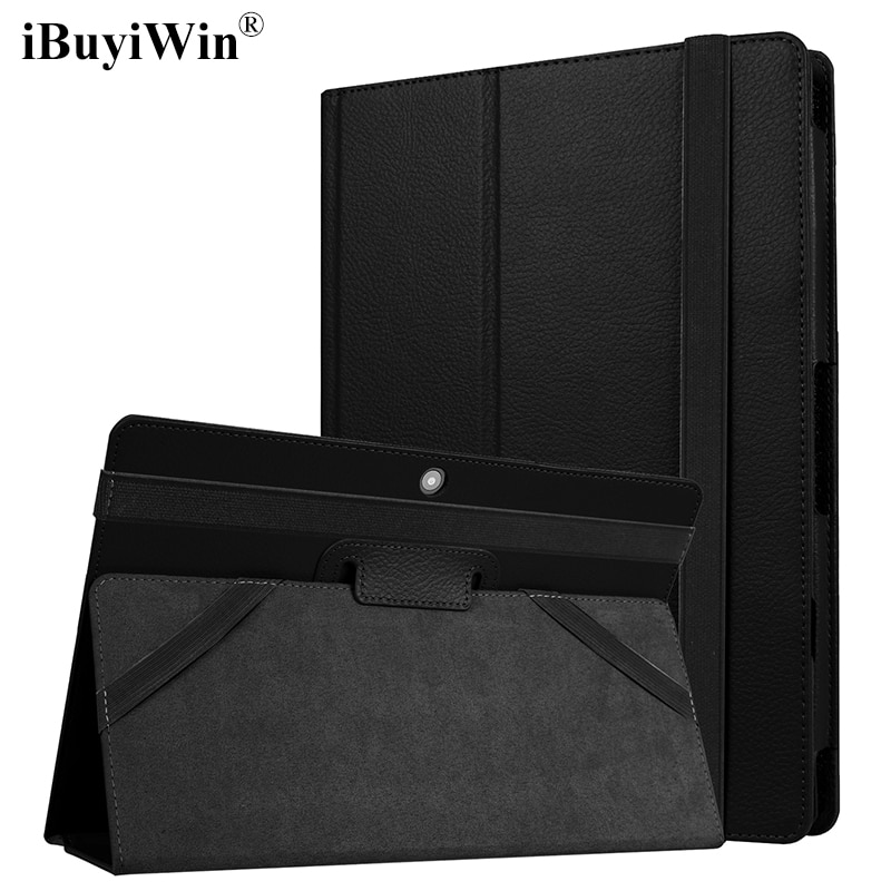 "iBuyiWin Folding PU Leather Case for Lenovo IdeaPad Miix 320 10.1"" Tablet Cases Keyboard Cover Stand Flip Shell Funda+Stylus Pen"