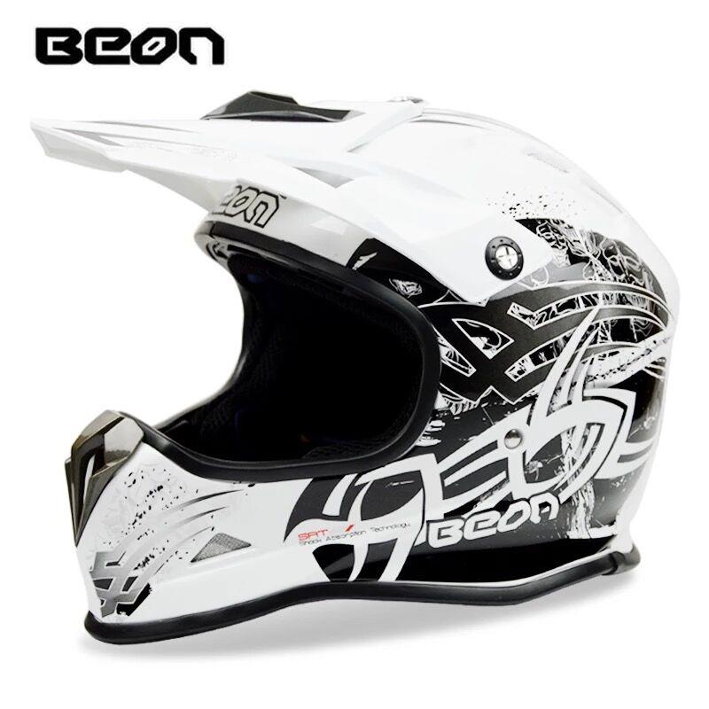 BEON motocross casco profesional bicicleta de montaña abajo DH capacete ATV casco cara completa Cruz casco