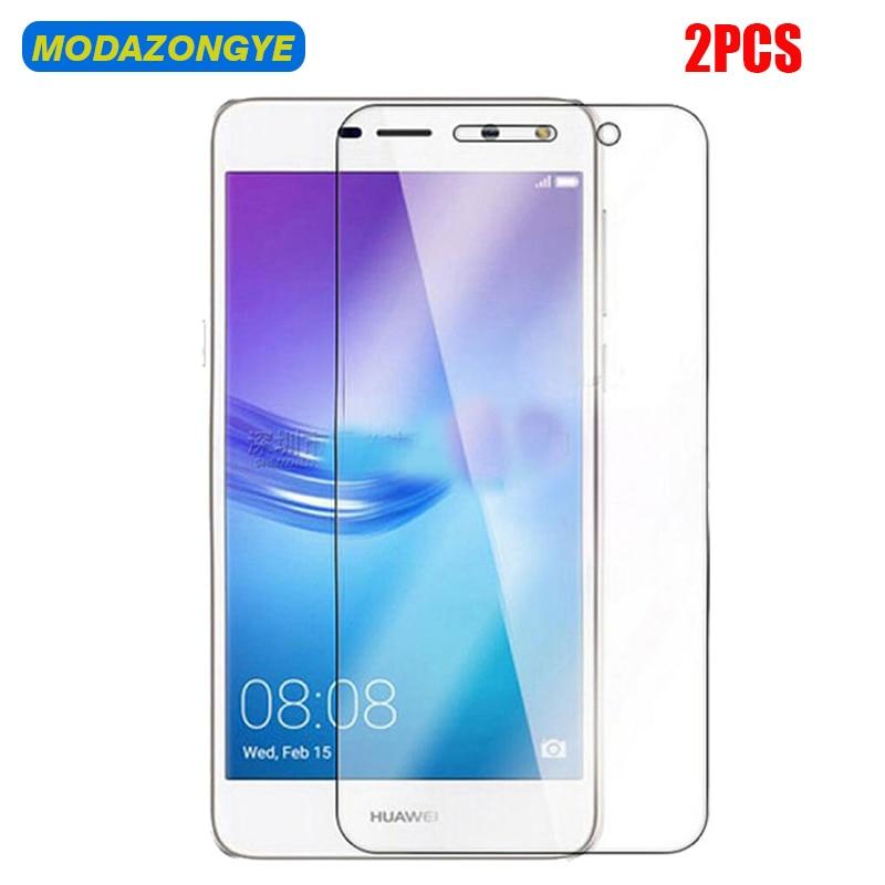 2 pcs Y6 2017 Vidro Temperado Protetor De Tela Huawei Huawei Y6 2017 MYA-L41 MYA-L11 MYA L41 L11 Y 6 2017 huawei vidro Nova Jovem