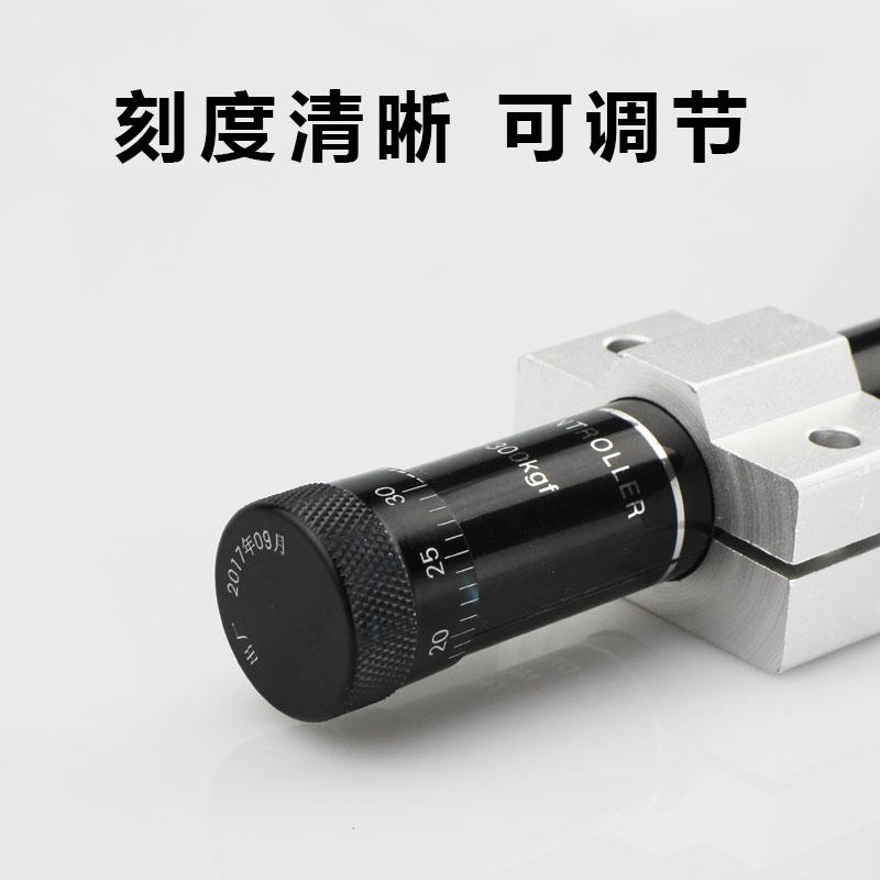 SR100(HR24100)350KG Hydro Speed Regulator, Rotary damper, Adjustable Pneumatic Cylinder Speed, Speed Control, Shock Absorber enlarge