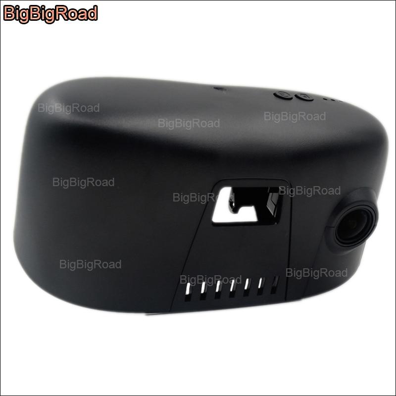 7 BigBigRoad Para BMW série 730 740 alta configuração wi-fi Car DVR Gravador De Vídeo Novatek 96655 HD 1080 p Car câmera dashcam
