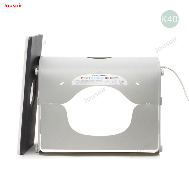Caja de luz de estudio de fotografía profesional portátil Mini Kit de foto SANOTO Softbox k40 para 220/110V EU CD50 T03 Y
