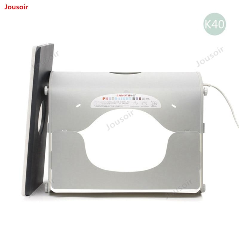 Профессиональный портативный мини-комплект для студийной фотосъемки со светодиодной подсветкой SANOTO софтбокс k40 для 220/110 в EU CD50 T03 Y