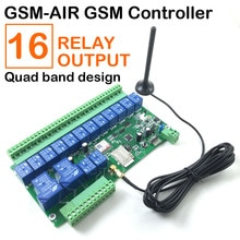 Contrôleur Gsm SMS télécommande   Livraison gratuite, commutateur de relais pour porte, pompe à eau ouverte, moteur appareils ménagers app
