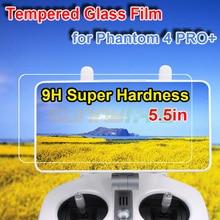 Sunnylife 5,5 pulgadas película de vidrio templado HD película protectora de pantalla para DJI Phantom 4 PRO + V2.0 control remoto Displayer
