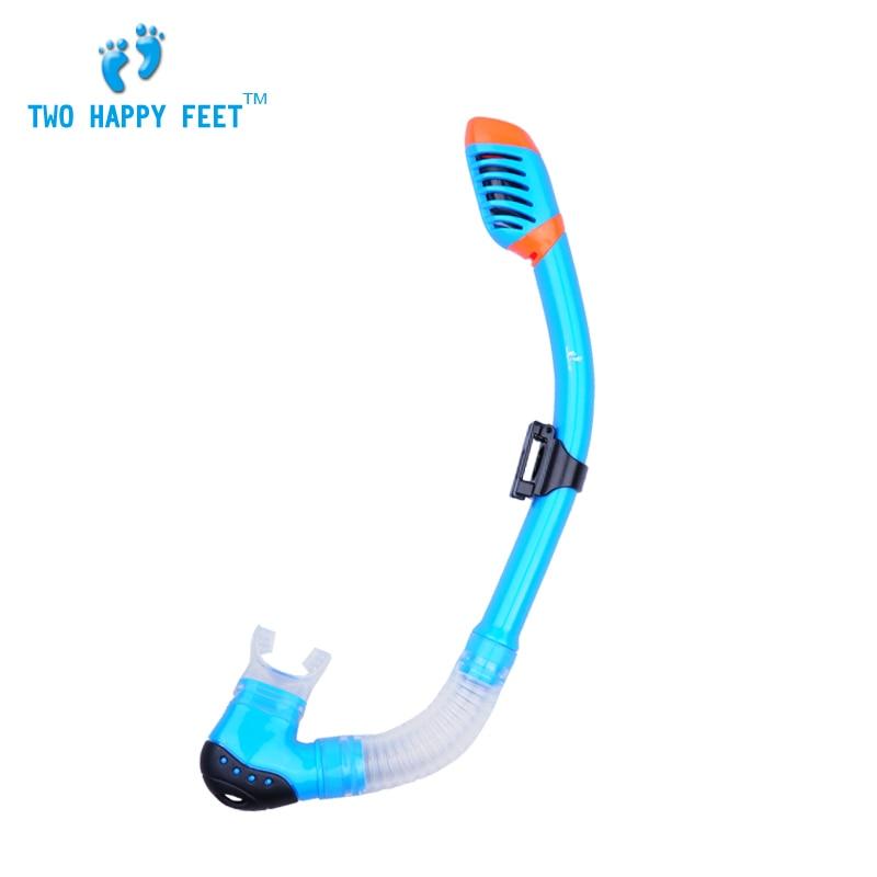 Envío Gratis Seal 100% Snorkel seco SCUBA Spear pesca buceo gratis natación azul