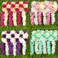 wedding flower decoration square canopy flower decor wedding props
