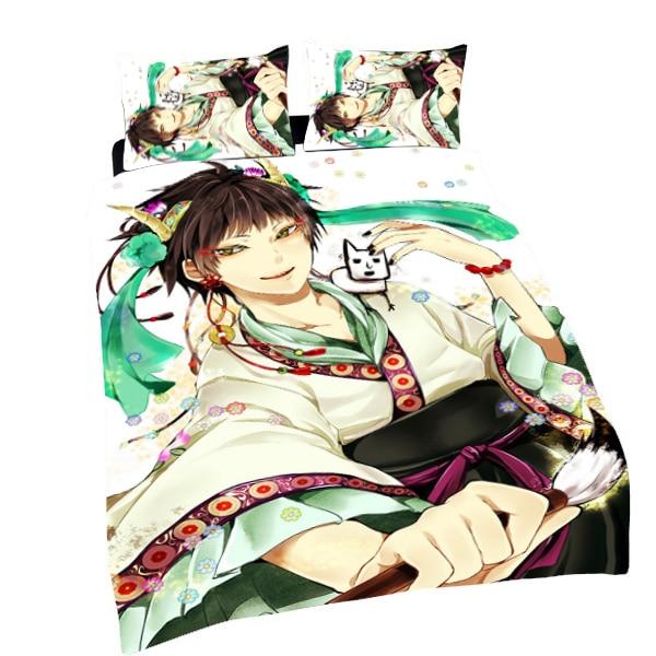 Hozuki No Reitetsu-غطاء لحاف ، أنيمي Hakutaku ، 150x210 سنتيمتر ، جانب واحد ، #40152