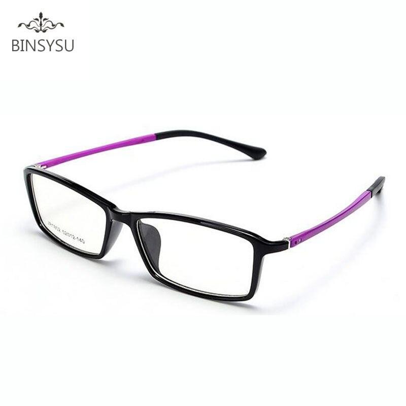 Monturas de gafas para miopía TR90, monturas de gafas, gafas sencillas, montura fina, montura de gafas de marca óptica