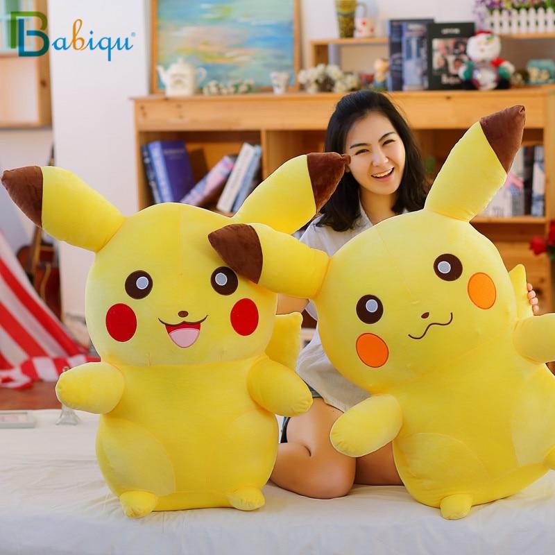 1pc 65cm Pikachu juguetes de Peluche lindo personal Anime juguetes para los niños Kawaii regalo juguete niños de dibujos animados de Peluche Pikachu de la felpa de almohada