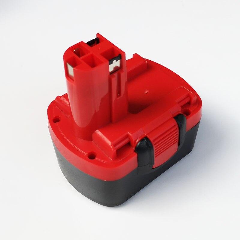 14,4 V 5.0ah batería recargable de iones de litio para Bosch destornillador eléctrico inalámbrico BAT038 BAT040 BAT041 BAT140 BAT159