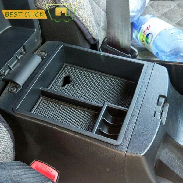 Para toyota hilux 2004-2012 2013 2014 central braço caixa de armazenamento center console bin luva bandeja titular caso do carro estiva tidying