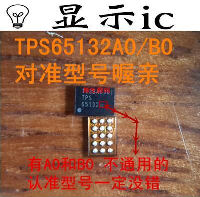 5 unids/lote TPS65132B0 TPS65132BO TPS 65132B0 pantalla IC 15pin