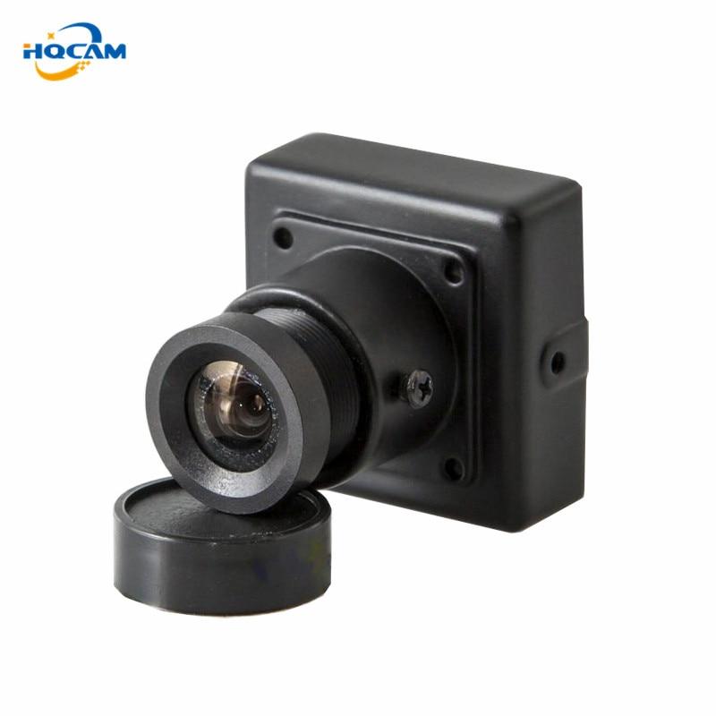 HQCAM 600TVL Sony CCD cámara de seguridad CCTV mini cámara ccd 3,6mm lente Nextchip fotografía aérea Cámara Industrial
