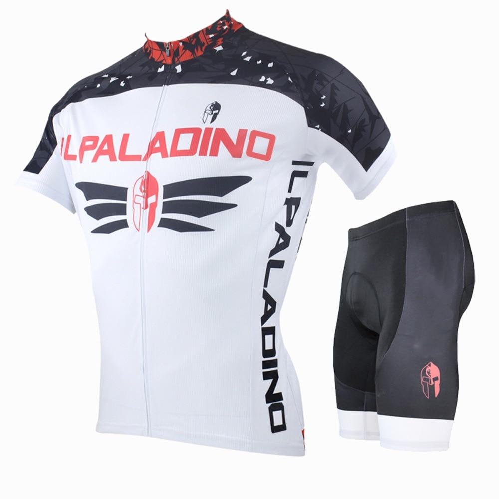Camiseta de ciclismo ILPALADINO equipo profesional para montar ropa de bicicleta deportes al aire libre blanco camisa de manga corta Blazer