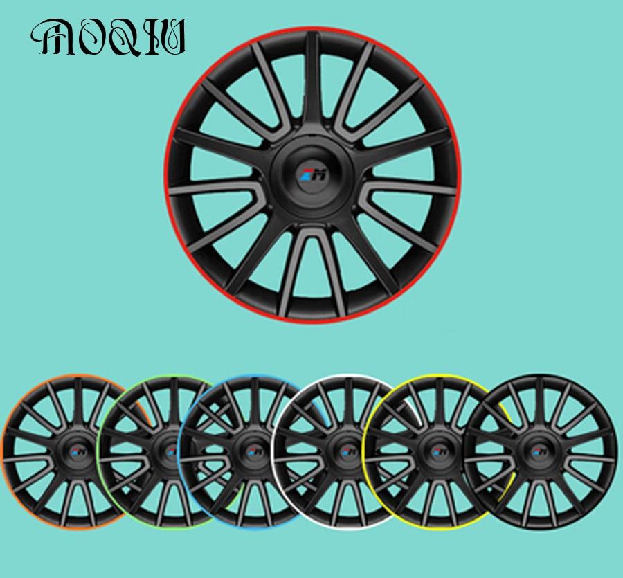 10 kleur 8 meters x Universal Car Wheel Rim alloy wheel arch protector Velg beschermende lijm rollen