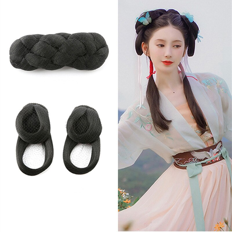 han dynasty shaped hair products for women beautiful princess hair accessories for photography TV play vintage classic cosplay classic vintage hairpin hair accessories princess hair flower chinese ancient princess hair decoration han dynasty wear