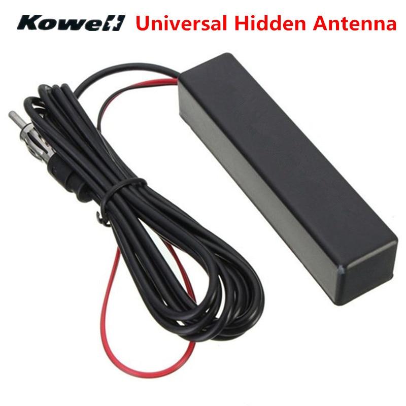 KOWELL-autoradio universel   Antenne aérienne cachée électronique FM/AM amplifiée pour Lada pour Volkswagen VW Golf Golf Bora RIO